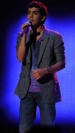 Jorge Nunez was the second performer sent home on Wednesday night on American Idol.
