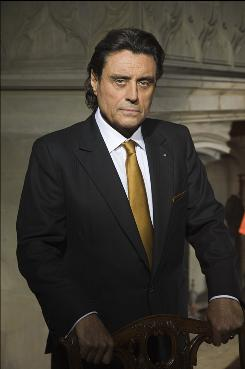 King Silas Benjamin (Ian McShane) resides in Shiloh in NBC's Kings, which is rife with biblical allusions and much, much more.