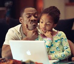 Parental lessons: In Imagine That, Evan (Eddie Murphy) has a new financial adviser -- his daughter (Yara Shahidi).