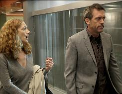 Fatal feline? House (Hugh Laurie) treats a nursing-home employee (Judy Greer) who claims a cat has predicted her death.