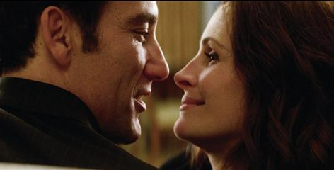 Clive Owen and Julia Roberts join the spy/romance genre, hooking up for a corporate con job in Duplicity.