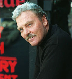 Stacy Keach is known for his roles in Titus and  American History X.