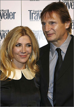 Natasha Richardson, married to Liam Neeson, suffered a fatal head injury.