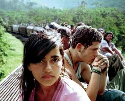 Paulina Gaitan and Edgar Flores' paths cross in a saga of young Central Americans who head for the USA.