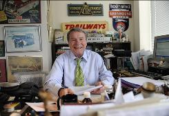 "Jim Lehrer, 74, host of PBS' NewsHour, says he hopes one day to be known as a writer instead of ""the TV guy."" His 19th novel, Oh, Johnny, is out Tuesday."