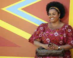 "Jill Scott stars as Precious Ramotswe, who starts up Botswana's first female-owned detective agency. ""I just wanted her to be as normal to this country as natural as rain,"" Scott says."