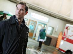 Original cast member Noah Wyle's character, Dr. John Carter, will be part of the drama for the final episode of NBC's ER, Thursday at 9 ET/PT.