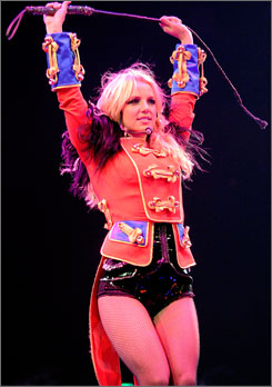 Britney Spears' tour may be a Circus, but it doesn't tolerate rowdy roadies.