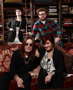 Ozzy and Sharon and their children Kelly and Jack reunite on television tonight for Fox's Osbournes: Reloaded, six variety specials before a studio audience.
