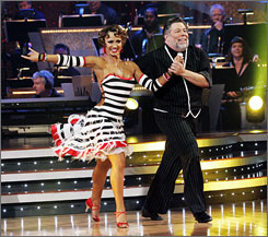 Steve Wozniak's legion of nerds could not save him from elimination Tuesday night. Girls Next Door star and last-minute Dancing addition Holly Madison also got the heave-ho.