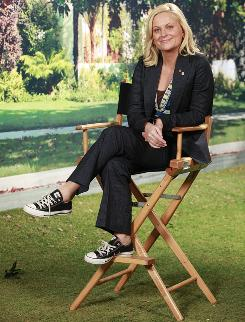 Great outdoors: Amy Poehler, the star of Parks and Recreation, says she enjoys playing a subtle character: Leslie Knope of the Pawnee,Ind., parks department.