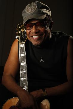 Soul survivor: Bobby Womack, a protege of Sam Cooke who overcame personal troubles and forged a long and respected career on his own terms, will be inducted into the Rock and Roll Hall of Fame on Saturday night.
