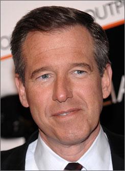 Brian Williams succeeded Tom Brokaw as anchor of NBC Nightly News.
