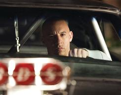 Vin Diesel hits the road again for the fourth installment, Fast & Furious, whose $72.5 million take this weekend set the record for a movie opening in April.