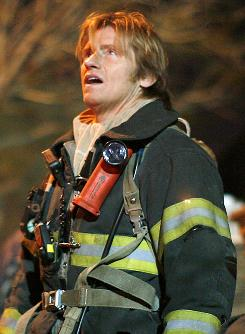 Denis Leary is back in the fifth season of Rescue Me. Tuesday is the first of 22 consecutive episodes, the longest stretch ever for the series.