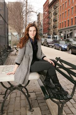 Amber Tamblyn, who hails from Los Angeles, now lives in New York, where her detective series Iis shot. The show premieres Wednesday on ABC.