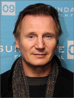 Liam  Neeson is known for films such as Shindler's List, Michael Collins and Rob Roy.