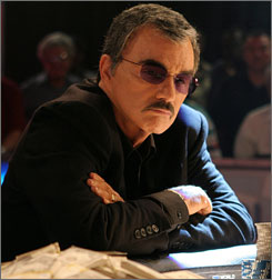 Burt Reynolds is famous  for   Smokey and the Bandit and Canonball Run