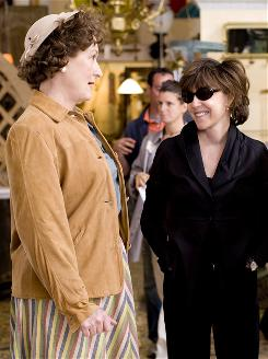 Nora Ephron directs Meryl Streep in Julie & Julia, which was filmed mostly in the New York area.