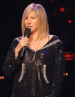 Barbra Streisand has one of the few sweeps specials: a rare concert airing on CBS Saturday.