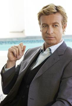 CBS procedural The Mentalist, starring Simon Baker, is one of the year's few new hits.