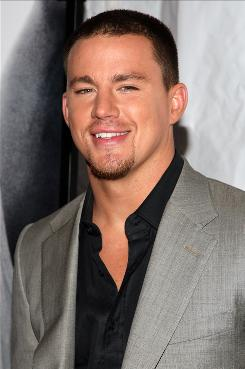 At the premiere: In Fighting, out Friday, Channing Tatum is a New Yorker who turns to street fighting.
