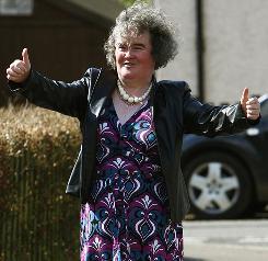 Susan Boyle's voice even surprised Simon Cowell, a judge on Britain's Got Talent.