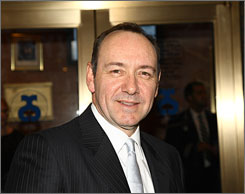 Spacey is a two-time Oscar winner, for 1995's The Usual Suspects and  for 1999's American Beauty.