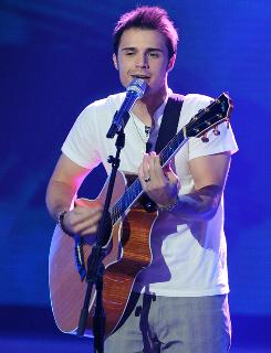 Kris Allen: He's considered a dark horse among the five remaining American Idol finalists.