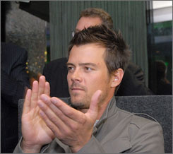 Josh Duhamel will steer a 2010 Chevy Camaro on the pace lap for the Indianapolis 500 on May 24.