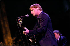 Rob Thomas performs during An Evening of Practical Magic, hosted by City Harvest on April 22 in New York City.