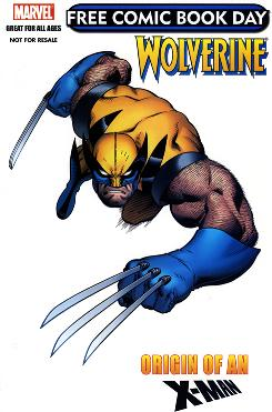 Want a free copy of Wolverine? Then head to your local comic-book shop -- Saturday is Free Comic Book Day.