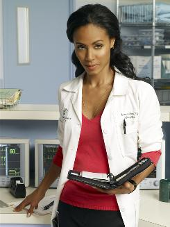 Jada Pinkett Smith plays a hospital nursing director in HawthoRNe, premiering on TNT June 16.