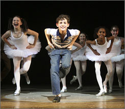Billy Elliot will compete against Shrek The Musical, Next to Normal and Rock of Ages for best musical.