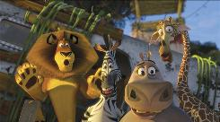 Madagascar: Escape 2 Africa, featuring Alex the lion (Ben Stiller), Marty the zebra (Chris Rock), Gloria the hippo (Jada Pinkett Smith) and Melman the giraffe (David Schwimmer), is the top DVD rental so far this year.
