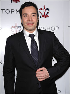 Talk show host Jimmy Fallon has been named person of the year by the Webby awards.