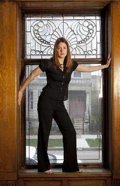 From TV critic to novelist: Gillian Flynn likes to explore the dark side. 