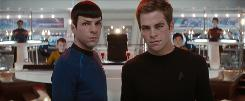 Star Trek, a tale of Spock's (Zachary Quinto) and James T. Kirk's (Chris Pine) early years, will pull even non-Trekkers into its orbit.