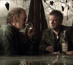 Magnusson (John McEnery), left, and Wallander (Kenneth Branagh) in the three-part Masterpiece Mystery! series.