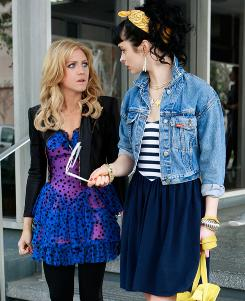 Contender for fall lineup: The Gossip Girl prequel would follow Lily (Brittany Snow) and Carol (Krysten Ritter).