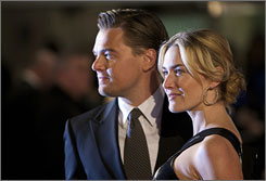 Kate Winslet and Leonardo DiCaprio say they will support a fund for Millvina Dean, 97, who was a 2-month-old passenger on the Titanic when it sank in 1912.