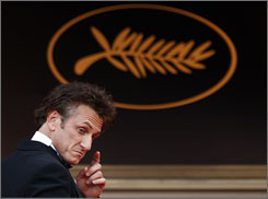 Sean Penn was the head of the jury last year at the Cannes Film Festival.