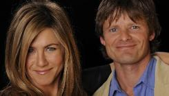 "Jennifer Aniston and Steve Zahn star in the romantic dramedy Management, out Friday. Zahn calls their off-screen bond a ""true connection."" Says Aniston: ""This is what we were meant to do."""
