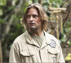 Sawyer (Josh Holloway) loses love, again.