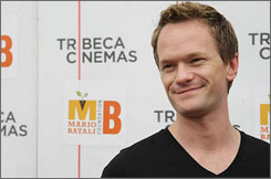 Neil Patrick Harris appears at a screening of Disney/Pixar's new film Up at Tribeca Cinemas on May 9 in New York City.