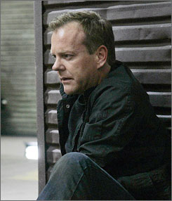 Jack (Kiefer Sutherland) winds up an action-packed season in an especially reflective way.