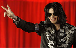 Michael Jackson hasn't had a major tour since 1997 or released an album of new material since 2001.