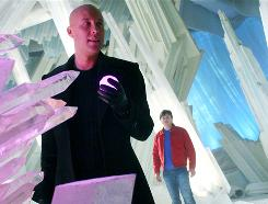Smallville, with Michael Rosenbaum as Lex Luthor, nemesis to Tom Welling's Clark Kent, will move to Fridays for its ninth season.