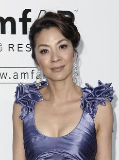Actress Michelle Yeoh was among attendees at the charity gala just outside Cannes.