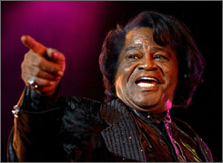 James Brown's estate will be divided between a charitable trust and members of his family, a judge ruled Tuesday.
